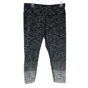Calvin Klein Womens Leggings Black White XL New